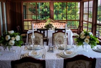 Intimate wedding receptions