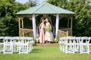 Garden Gazebo Ceremony